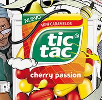 Tic Tac ilustraciones. Un proyecto de Ilustración y Publicidad de jaume osman granda - Jueves, 05 de diciembre de 2013 00:00:00 +0100