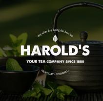 Harold's tea shop. Um projeto de Design, Publicidade e Fotografia de Ángel Plaza         - 08.12.2013