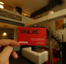 Tarjetas troquelado láser para Sinedie. Un proyecto de Diseño, Ilustración y Publicidad de Omán Impresores  - Miércoles, 11 de diciembre de 2013 00:00:00 +0100