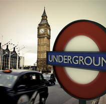 Modelado 3D: London Underground. A 3D project by Laia Cuberes - 24-11-2013