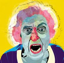 Angry People. Un proyecto de Ilustración de Alvaro  Tapia Hidalgo - 30-11-2013