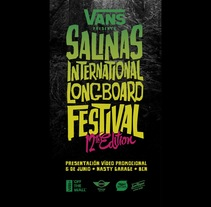 VANS SALINAS LONGBOARD FESTIVAL PROMO. A Advertising, Film, Video, and TV project by Jan Lopez Latussek         - 06.01.2014