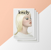 LOVELY THE MAG ISSUE#1. A Design project by Pablo Abad - Jan 08 2014 12:00 AM