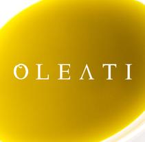 Oleati - diseño identidad corporativa. A Design project by Irene Rubio Baeza         - 07.01.2014