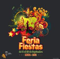 Feria y Fiestas. A Design project by Estudio de Diseño y Publicidad          - 07.01.2014