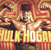 CMT – Hulk Hogan's Celebrity Championship Wrestling. A Design, Illustration, and Motion Graphics project by David Pocull - Jan 13 2014 12:00 AM