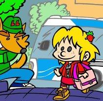 Dibujos de caracter infantil . Un proyecto de Ilustración de david  alcala cerrada - Jueves, 16 de enero de 2014 00:00:00 +0100