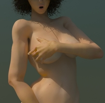 Modelado 3D women. A 3D project by Candido Romon Diaz         - 16.01.2014
