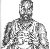 Ilustraciones NBA. Un proyecto de Ilustración de David Rodríguez - 18.01.2014