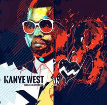 Kanye West Album Artwork. A Illustration project by Noem9 Studio - 08-10-2013
