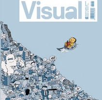 Cover Visual Magazine. A Design, Illustration, and Advertising project by Celsius Pictor  - 26-01-2014