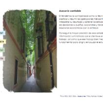 Web Asesoría Jurídica. A IT, Web Design, and Web Development project by Iván González - 09-04-2013