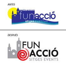 Cambio de cara de Fun-Acció. A Events, and Graphic Design project by Magda Noguera - Jan 28 2014 12:00 AM