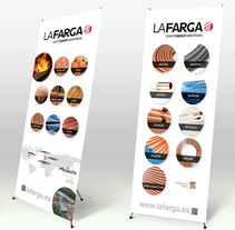 Lonas corporativas. A Graphic Design project by Dues Creatius          - 29.01.2014