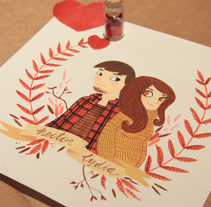 VALENTINE'S DAY. A Illustration, Crafts, and Fine Art project by Lydia Sánchez Marco - Feb 03 2014 12:00 AM