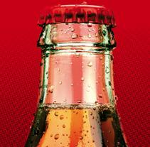 La marca de la Felicidad. Cocacola.. A Design, Advertising, Art Direction, Editorial Design, and Graphic Design project by Adriana García         - 30.11.2013