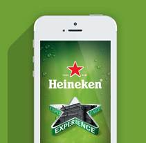 Heineken Experience - iPhone and Android app. A Software Development, UI / UX, and Art Direction project by Chus Margallo - 31-05-2013