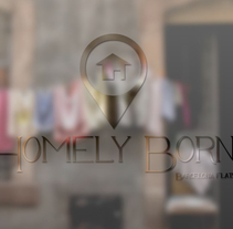HOMELYBORN – Proyecto en proceso -. A Br, ing, Identit, Graphic Design, and Web Design project by mail: contacto@valeparis.com         - 12.02.2014