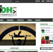 Web del Proyecto Red de Investigadores en Derechos Humanos (Fundación UAM). A Web Development, Web Design, and Education project by Punto Abierto   - Feb 24 2013 12:00 AM