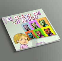 El color de un amigo (Álbum ilustrado). A Illustration, Editorial Design, and Education project by Arturo Mata - 25-02-2014