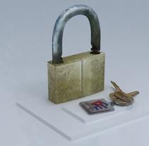 Candado. Um projeto de 3D de Yordany Ovalle Muñoz         - 06.03.2014