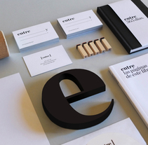 ESTUDIO ENTRE. A Br, ing, Identit, Art Direction, and Graphic Design project by Silvia Gil-Roldán - Mar 08 2014 12:00 AM