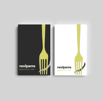 Raul Parra Chef Gastronómico. Un proyecto de Br e ing e Identidad de Aida Antolin         - 07.03.2014