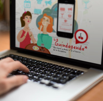 La guindagenda. A Web Development, Graphic Design, Web Design&Illustration project by Clara Morales de Paz - Mar 09 2014 12:00 AM
