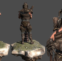 3D Knight ingame. Un proyecto de 3D de Guillermo Morillas Gonzalez         - 08.03.2014