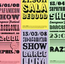 Supafamicom Posters. Un proyecto de Dirección de arte y Diseño gráfico de Jordi Matosas         - 09.03.2012