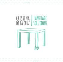Cristina de la Cruz. Un proyecto de Diseño, Dirección de arte, Br, ing e Identidad, Gestión del diseño, Diseño gráfico y Diseño Web de Samuel Ciprés Larrosa - 07-01-2014