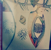 Ojos surrealistas. A Illustration project by Sara Fitta         - 14.03.2014