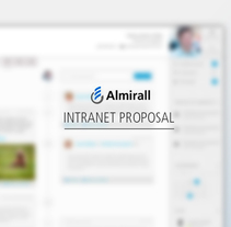 Propuesta de Intranet para Almirall. A UI / UX, Information Architecture, and Web Design project by Leopoldo Tabares de Nava Sieper         - 16.03.2014