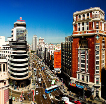 Gran Vía, Madrid. A Photograph, and Architecture project by Pedro  Cobo López         - 17.03.2014