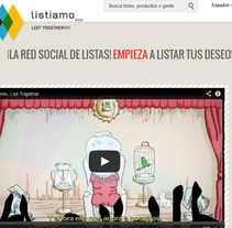 LISTIAMO. A Web Development project by NET CODE ENGINE  - 17-03-2014