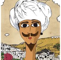 Ilustraciones para el Romance de Aben Humeya. Un proyecto de Ilustración de Antonio illescas         - 31.12.2013