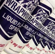 WrapWorkers - Plastic Liquid Spray- It's my car Honey!. Um projeto de Br e ing e Identidade de Paloma Toscano         - 24.03.2014
