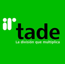 Tade Identidad Corporativa + Web Site. A Br, ing, Identit, Graphic Design, and Web Development project by Ángelgráfico  - 24-03-2014