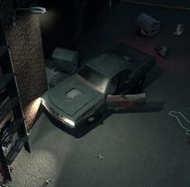 Crime Scene Alley NewYork 3D. Un proyecto de Cine, vídeo, televisión, 3D, Animación y Post-producción de Ancor  del Valle - 24-03-2014