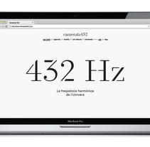 Orquesta Camerata 432. A Graphic Design, and Web Design project by Atipus  - Mar 30 2014 12:00 AM