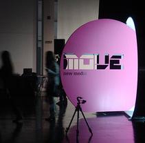 MOVE New Media. A Installations, Interior Architecture, and Set Design project by César García Guerra          - 30.03.2014