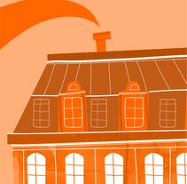 Aereos zonas Orange Televenta. Un proyecto de Ilustración de Claudia Aguado Vaquero         - 01.04.2014