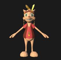 Personajes cartoon para plataforma móvil. A 3D, and Game Design project by Alvar Guisado         - 01.04.2014