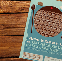 Cartel Festival Solidari Nit de Reis. A Illustration, and Graphic Design project by Carolina Carbó         - 03.04.2014