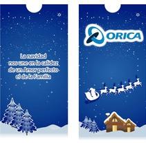 Tarjeta de invitación de Orica. Um projeto de Design e Design gráfico de Martha Midori nicolas huaman         - 07.12.2013