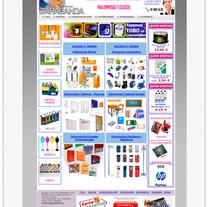 Comercial Zarabanda. Un proyecto de Diseño Web de Cristina  Álvarez          - 08.06.2012