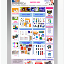 Comercial Zarabanda. A Web Design project by Cristina  Álvarez  - 08-06-2012