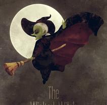 Wicked. Um projeto de Ilustração, Design de personagens e Pintura de Victor  Nariño         - 11.04.2014