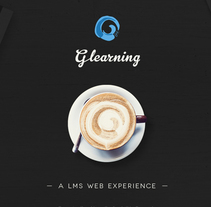 GLearning. A Design, Art Direction, and Web Design project by Julián Pascual - 16-04-2014