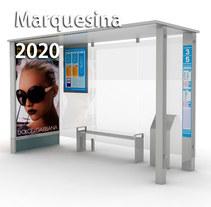 Marquesina 2020. A 3D&Industrial Design project by Carlos Fenoll - Apr 28 2014 12:00 AM